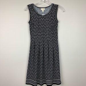 MAISON JULES Fit & Flare Sleeveless Dress XXS NWT